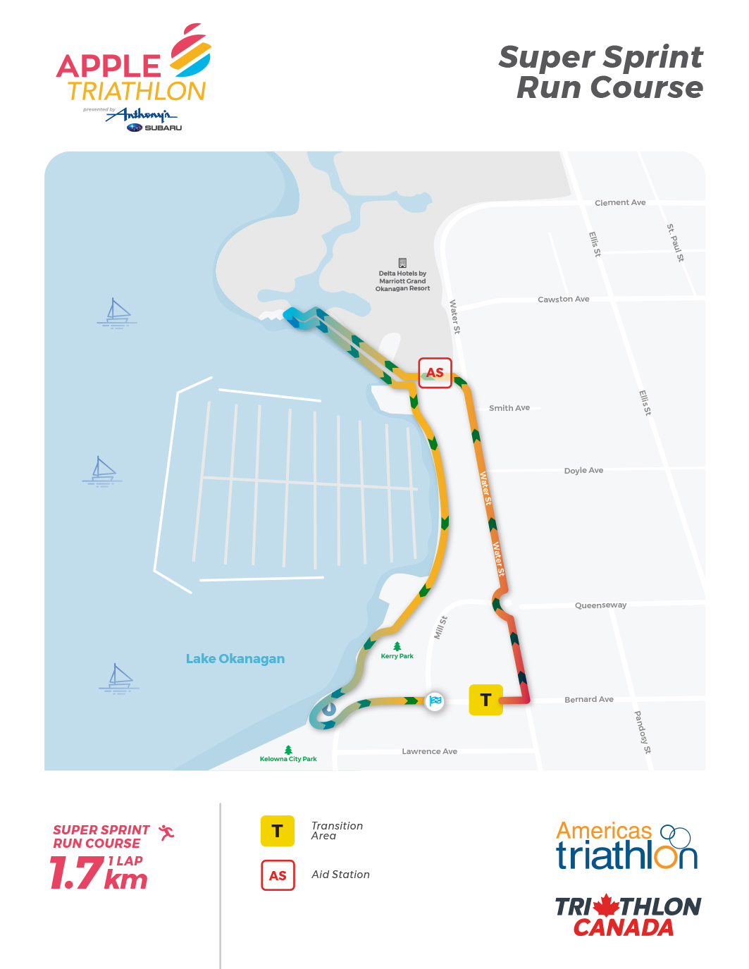 Course Maps - Apple Triathlon